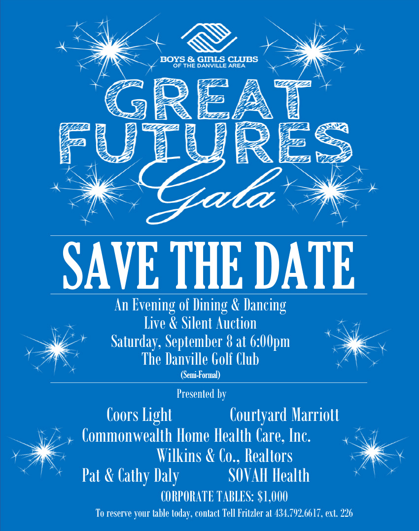 Great Futures Gala Flyer